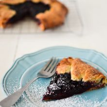 Simple Blackberry Galette